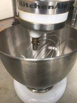 Kitchen aid mixer with bowl in Naperville, Illinois