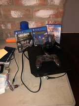 PlayStation 4 w/ 2 controllers & 3 games in Kingwood, Texas