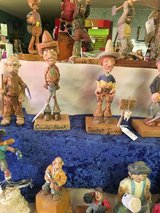 Hand carved statues in Alamogordo, New Mexico