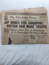 Historic. The Pittsburgh Press December 17,1941 in Kingwood, Texas