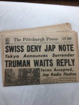 The Pittsburgh Press  August 14,1945 in Kingwood, Texas