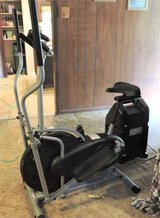 REDUCED Body Rider 2-in-1 Cardio Dual Trainer Elliptical & Upright Bike in Fort Campbell, Kentucky