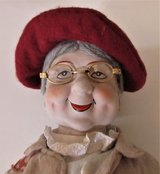 """DOLL Bag Lady SWEET OLD GRANDMA 16"""" by  Dynasty Collection in Fort Campbell, Kentucky"""