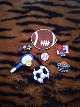 Iron-on sports patches bundle in Fort Hood, Texas