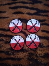 2-inch Pink Floyd Hammers sew-on patches bundle in Fort Hood, Texas
