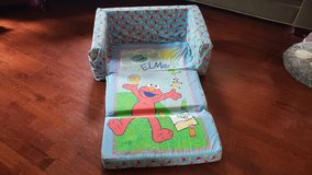 Elmo's World child flip out sofa/couch in Algonquin, Illinois