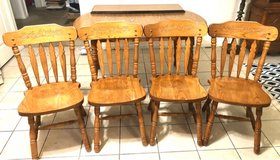 Kitchen table/4 chairs in Toms River, New Jersey