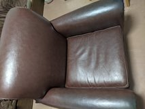 Brown Leather Chair in Okinawa, Japan