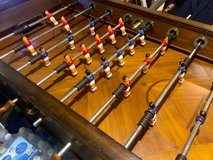 Electronic Foosball Table with adjustable count down and score keeper - Great Condition! in Kingwood, Texas