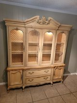 Vintage french provisional china cabinet in Conroe, Texas
