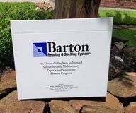 Barton Reading & Spelling System- levels 1-4 in Kingwood, Texas