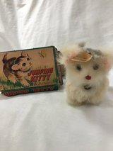 Antique jumping kitty wind up toy in Kingwood, Texas