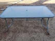 patio table in 29 Palms, California
