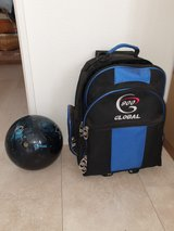 Youth Bowling Ball w/Case in Okinawa, Japan