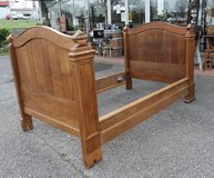 antique sleigh bed in Spangdahlem, Germany