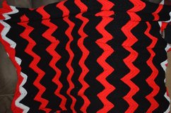 Crocheted lap blanket in Fort Campbell, Kentucky