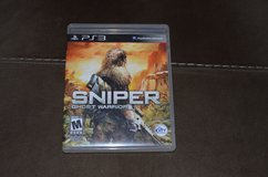 PS3 Sniper- Ghost Warrior in Fort Campbell, Kentucky