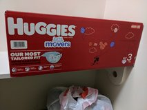Size 3 diapers in Beaufort, South Carolina