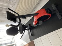 Indoor stationary Bike Like New with mat in Ramstein, Germany