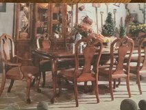 """Thomasville """"British Gentry"""" Dining room Table and Chairs in Bellaire, Texas"""