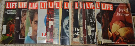 REDUCED Collectable 16 LIFE Magazines in 29 Palms, California
