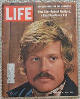 REDUCED Collectable LIFE Magazine Redford in 29 Palms, California