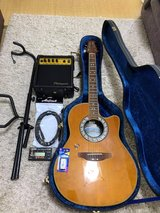 Ovation Celeb. Acoustic-Electric Guitar in Okinawa, Japan