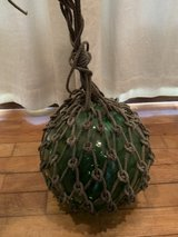 """12"""" Antique Japanese Glass Buoy 2 in Okinawa, Japan"""
