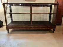 ANTIQUE GLASS DISPLAY CABINET in St. Charles, Illinois