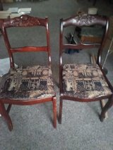 Duncan Phyfe Rose back chairs in Beaufort, South Carolina