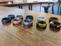 Size 11 silicone Rings 10x in Ramstein, Germany