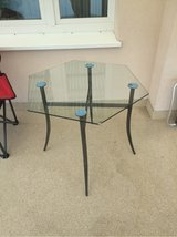 patio glass table in Ramstein, Germany