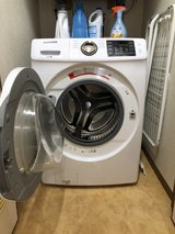 Samsung Front load washer in Okinawa, Japan