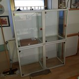 Flötotto display cases. (Glascontainer) in Ramstein, Germany