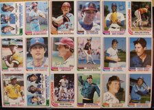 102 Topps NOS baseball cards w/1981 stats in Naperville, Illinois