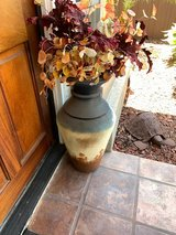 Entry Pot with Silk Flowers in Camp Pendleton, California
