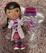 Doc McStuffins with Doctor Case and doctor tools in Camp Lejeune, North Carolina
