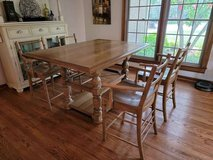 Paula Dean Down Home Gathering Table with 6 Chairs. - $355 in Bellaire, Texas