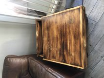 Custom Rustic Table with Storage in Camp Pendleton, California