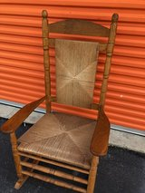 Oak Woven Rocking Chair in Cherry Point, North Carolina