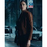 Diana Prince Justice League Leather Jacket in Fort Drum, New York