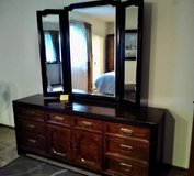 Bedroom Dresser with Mirror in St. Charles, Illinois