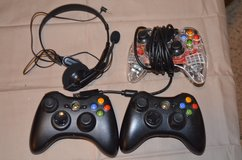 XBox controllers in Fort Campbell, Kentucky