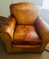 Leather Chair in Beaufort, South Carolina