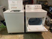 Whirlpool washer and dryer in Kingwood, Texas