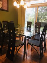 dining table with 8 chairs in Naperville, Illinois