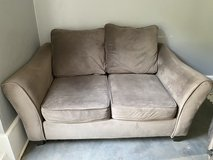 Gray loveseat in Fort Campbell, Kentucky