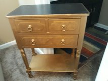 Painted Side Table/Bedstand in Fort Campbell, Kentucky