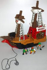 Fisher Price Great Adventures Pirate Ship in Joliet, Illinois