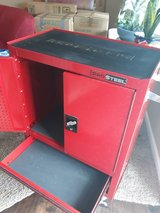 Red Metal Rolling Tool Cabinet with 2 Drawers in Fort Campbell, Kentucky